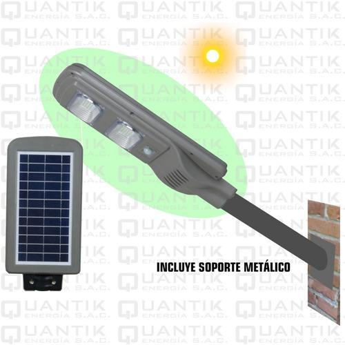 Reflector Solar Led Con Panel Solar Y Sensor Mov 25w-automat
