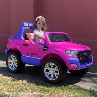 Ford Ranger Rosa - Carrito Electrico