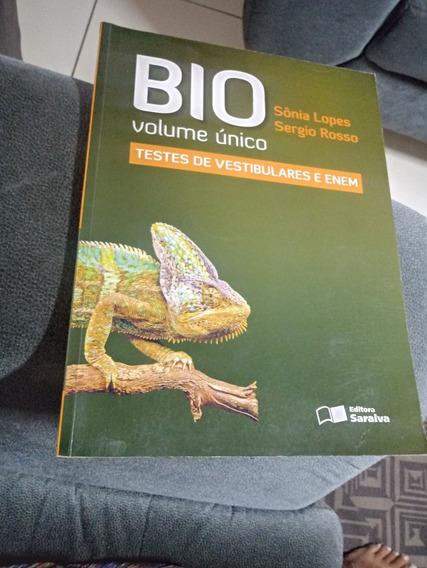 Livro Bio Volumr Unico Testes E Vestibul. E Enem