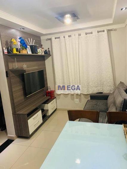 Apartamento Com 2 Dormitórios À Venda, 46 M² Por R$ 180.000 - Jardim Márcia - Campinas/sp - Ap4258