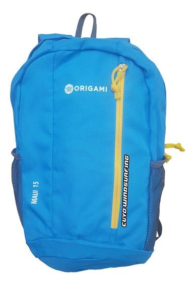 Mochila Urbana Deportiva Origami 15 Litros Hombre Mujer Niño Viaje Low Cost