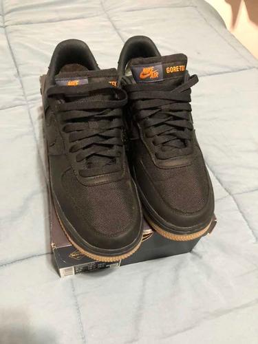 Arqueología formar Relajante  Zapatillas Nike Air Force 1 Gore-tex Black Negras Waterproof | Mercado Libre