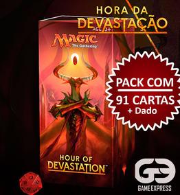 Magic The Gathering Hora Da Devastação Pacote Pré Lançamento