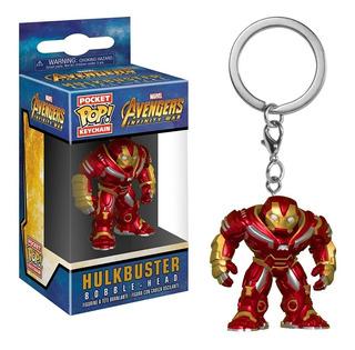 Llavero Funko Pop Hulkbuster Pocket Pop Keychain