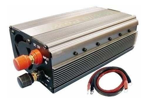 Inversor De Energia 1000w Transformador Conversor 12v P/110v