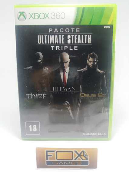 Xbox Jogo Triple Pack Ultimate Stealth