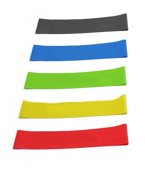 Kit De Bandas De Resistencia Coloridas Para Ejercicios 5 U.
