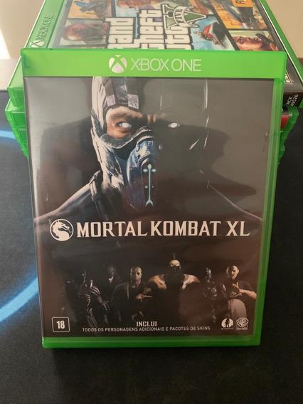 Jogo Mortal Kombat Xl - Xbox One - Mídia Física