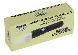 Lanterna Tática Led T6 108000w / 3250000 Lumens Jyx Jy-8852