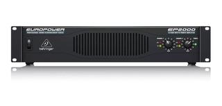 Power Amplificador De Sonido Behringer Ep2000 + Garantía