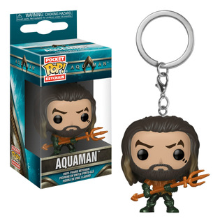 Llavero Funko Pop Keychain Aquaman - Arthur Curry As Gladiat
