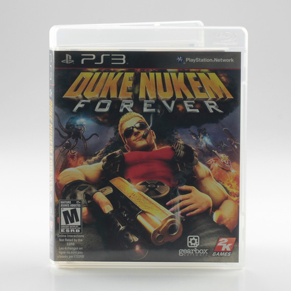 Duke Nukem Forever Ps3 Playstation 3 Mídia Física