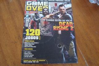 Revista Game Over 46 Com Cd De 120 Jogos / Dead Rising 2