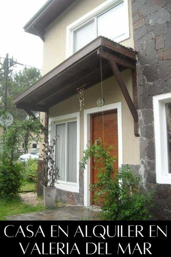 Imagen 1 de 14 de Casa Con Pileta En Valeria Del Mar,costa Atlantica,temporada