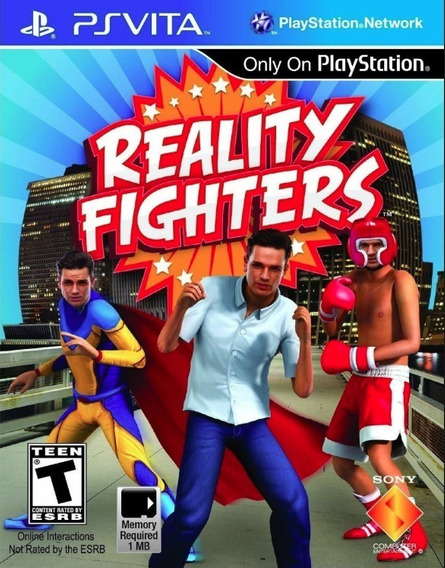 Reality Fighters - Ps Vita - Original - Psvita