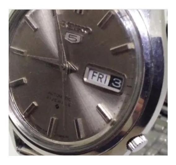 Relógio Pulso Seiko 5 Masculino Automático U04685 Webclock