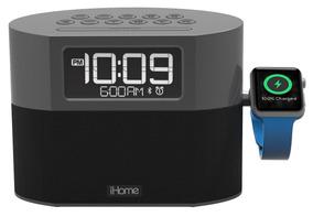 Ihome Iwbt400g Radio Reloj,bluetooth,carga Apple Watch Y Usb