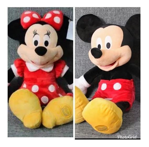 Mickey E Minnie Pelucia 45 Cm Disney Store - Disney/