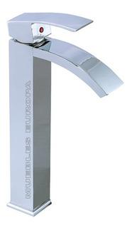 Mezcladora Grifo Llave Monomando Alto Moderno P Baño Ovalin