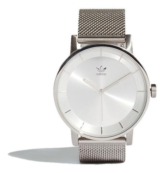 Reloj adidas Originals Unisex Plateado District M1 Cj6321