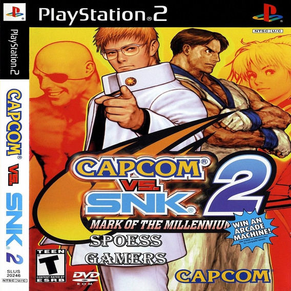 Capcom Vs. Snk 2 - Mark Of The Millennium 2001 Ps2 Patch