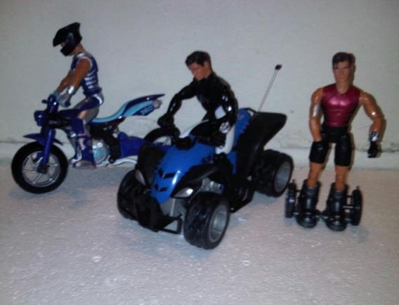 Muñecos Max Steel Con Motos