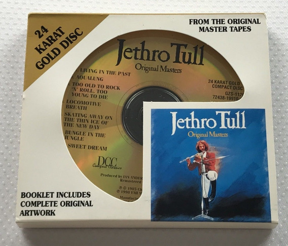Jethro Tull: From The Original Masters Tapes Gold 24 Karat