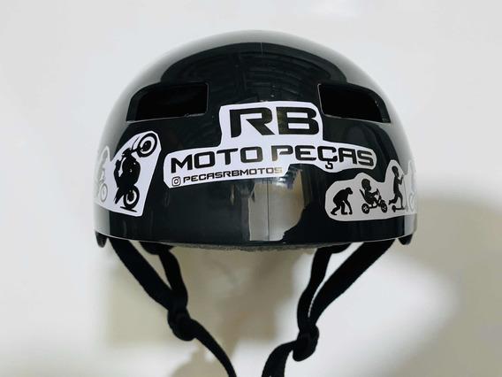 Capacete De Moto Manobras Radicais