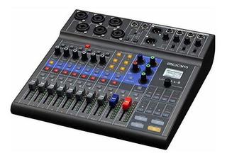 Grabador Zoom Podcast Digital Mixer L-8 ®