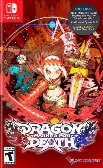 Dragon: Marked For Death - Nintendo Switch - Lacrado