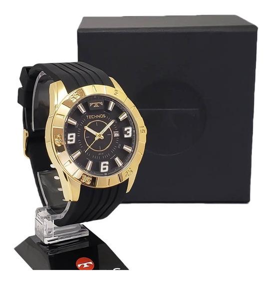 Relógio Technos Masculino 2115kza/8p Pulseira De Silicone