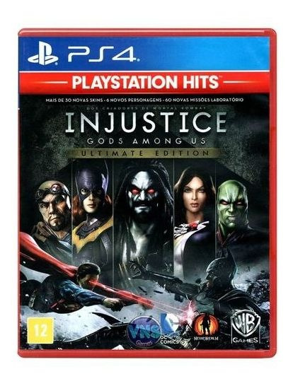 Injustice Gods Amongus Ultimate Edition Ps4 Mídia Física
