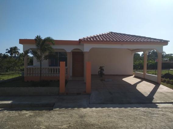 Vendo Casas Listas Y En Planos En Canastica San Cristóbal