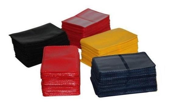Carteirinha Para Foto 3x4 Cm Plástica Kit Com 100