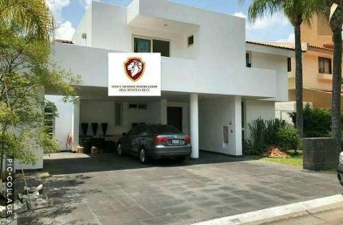 Preciosa Residencia En Fracc Atlas Colomos En Coto En Guadalajara