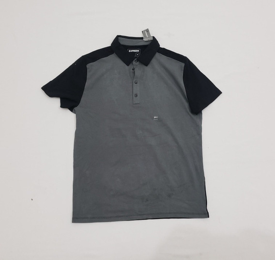 Playera Polo Express Gris