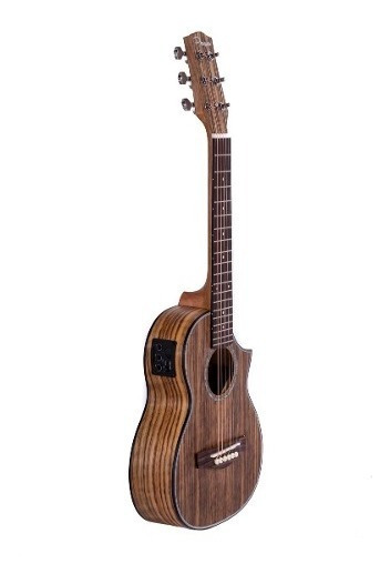 Guitarra Mini Electroacustica Viajera 26 Con Eq Y Funda