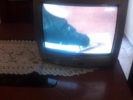 Televisor Memorex 14 Pulgada..cc/r Y Dvd Con Control