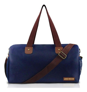 Bolsa De Viagem/academia Masculina - Jacki Design Azul-mr