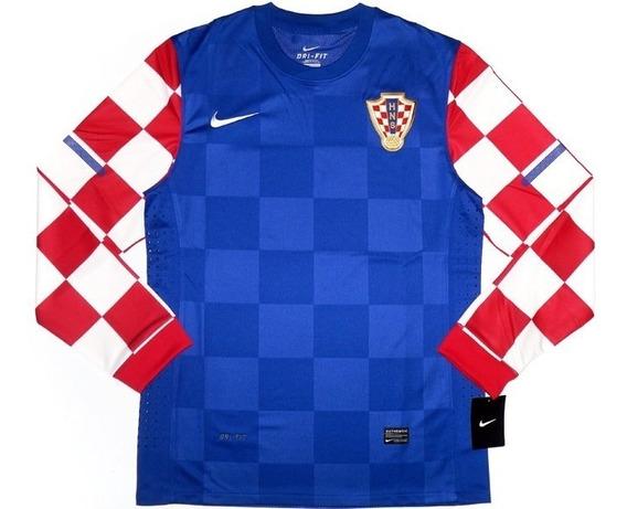 Camiseta Nike Croacia Version Jugador Tela Juego Enviogratis