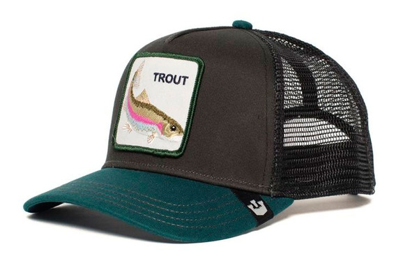 Gorras Goorin Bros Baseball Trout Trucha Bordada Animal Farm