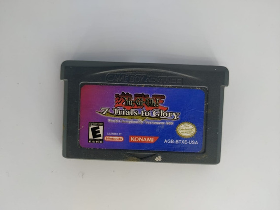 Yu-gi-oh 7 Trials To Glory Game Boy Advance Midia Fisica Usa