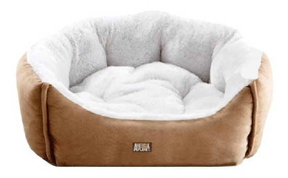Cama Perro Gato Ultra Suede 60x50x21cm Arena Animal Planet