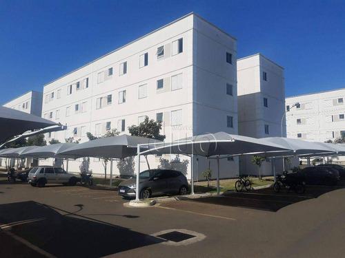 Apartamento Com 2 Dormitórios À Venda, 45 M² Por R$ 115.000,00 - Bongue - Piracicaba/sp - Ap4396