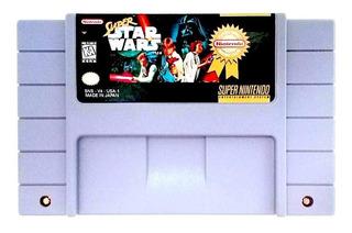 Snes Super Nintendo Super Star Wars Excelente Estado