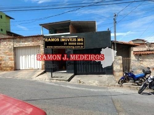 Piratininga - Casa 4qts 2wcs + Terraço Lote 180m² Em Bhte-mg