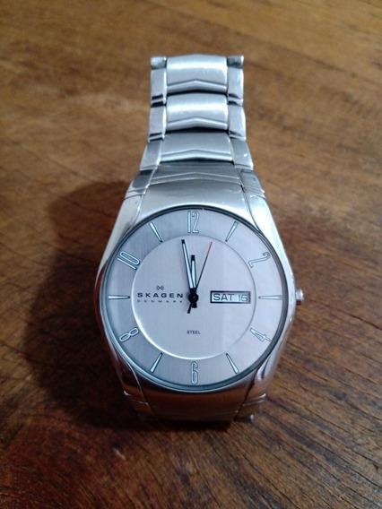 Relógio Skagen Denmark 531 Xlsxc Aço Inoxidável