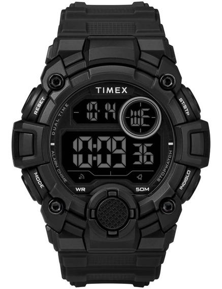 Reloj Timex Sport Negro Digital Tw5m27400 De Hombre Original