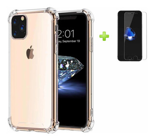 Funda Rígida Transparente Air Bag iPhone 6 7 8 Plus Xr Xs M