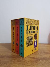 Box Lima Barreto - Obra Reunida. Novo